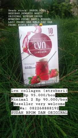 PROMO LVN collagen (stroberi) original