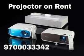 Projector on Rent take for birthday parties anniversaries training's