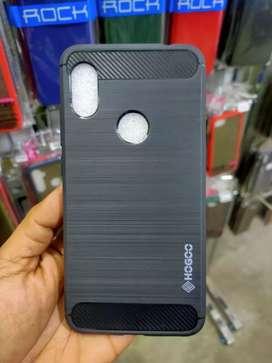 Case Xiaomi Redmi Note 6 Pro HUGOO Soft Carbon Series