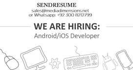 Need Android & IOS Developer Expert