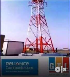 Reliance jio Telecom tower