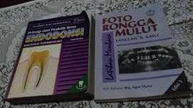 2 buku kedokteran gigi judul liat gambar