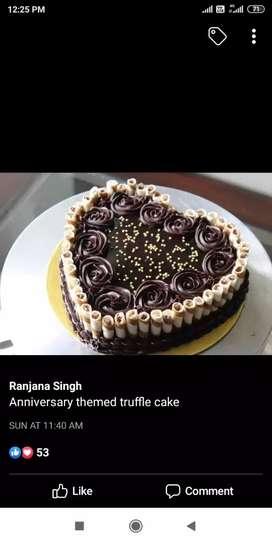 Order cake making