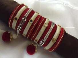Silk thread based bangals