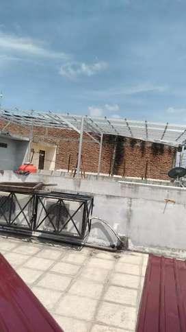 Kanopi dan rangka atap bajaringan