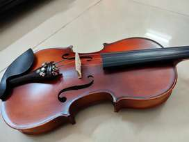 Violin Kit Solid Wood 4/4 with Bow, Rosin and Case.