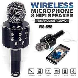 Mic  Bluetooth Speaker Karaoke