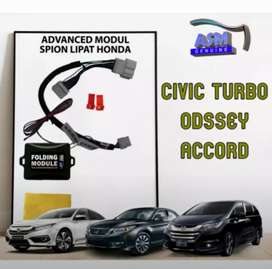 Modul Autofolding Lipat Spion Retract Otomatis Civic, Accord, Odyssey