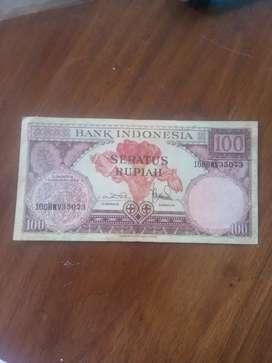Uang Kertas 100 Rupiah