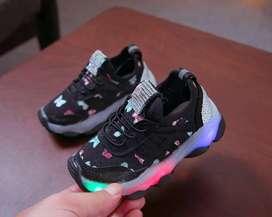 sepatu anak led murah
