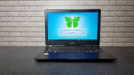 Laptop Design Grafis Acer V3-372 Intel Core i5 Model Slim Glossy