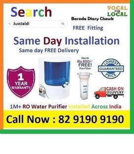 Baroda Diary Chowk RO Water Purifier Water Filter Dolphin  COD. Free D