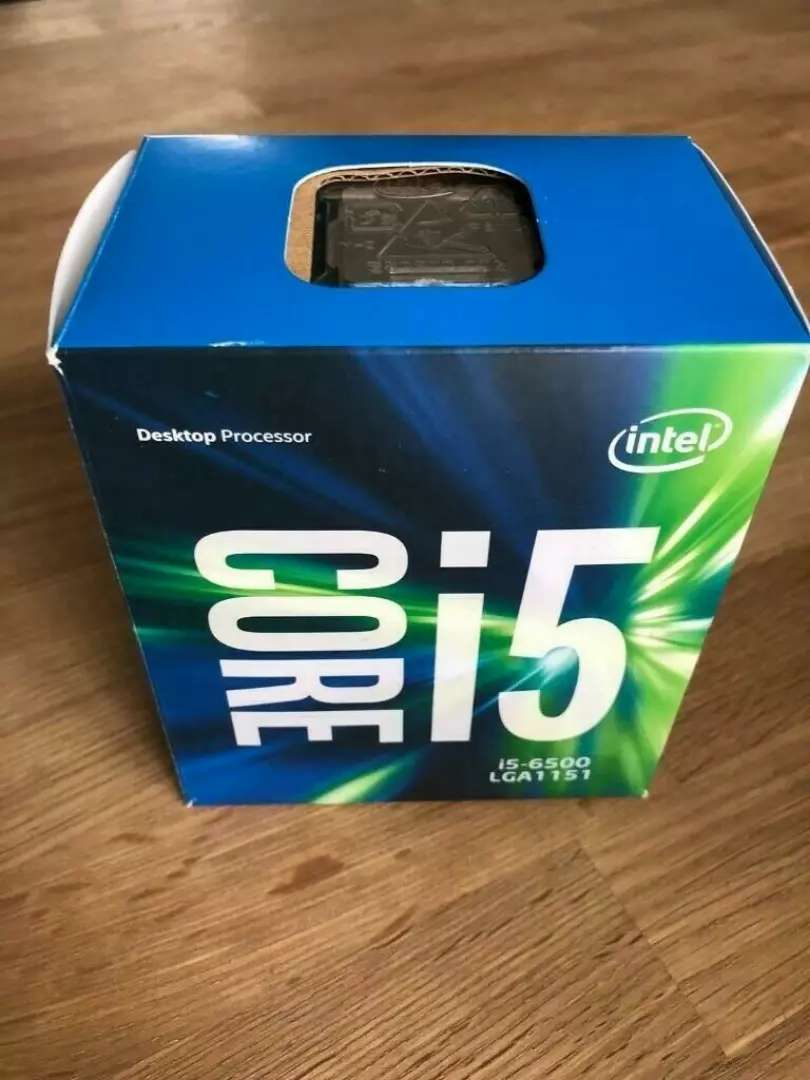 Core i5 6500 with box 0