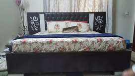 Double Bed complete set, Premium Quality Wood