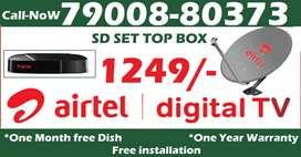 $$$ Airtel DTH Dishtv HD Tata Airteltv sky All over india @1249 $$$