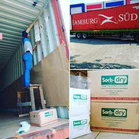 Penyerap lembab container & Ruangan