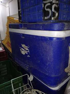110 ltr large aristo companys container 3set+ 1 medium size( blue )