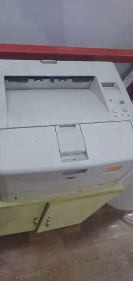 HP printer laserjet 5200 a3 and a4 net work printer