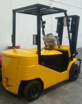 Ready Stok Elektrik Forklift YALE GENUINE JAPAN Used Langsung Pakai