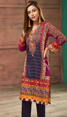 LADIES SUIT SUMMER LAWN EMBROIDERED 2020 WHOLESLE