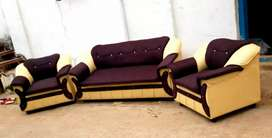 Fabric with Rexine type SOfa Sale