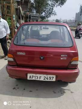 Maruti 800 model 2002 good conditions and good runing
