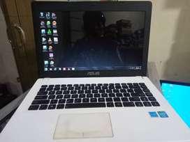 Laptop ASUS X451C Ada minus dikit