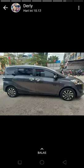 Dijual Toyota Sienta V, 1,5, Manual 2017  Rp.153.000.000 NEGO Tipis