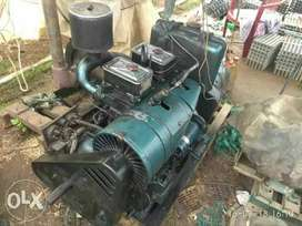 10kv 15hp three phase double cylinder kilosker generator.