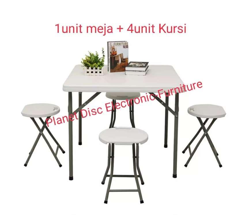 Meja Lipat Plastik  Meja Makan  Folding Table  Meja Cafe  Meja Teras
