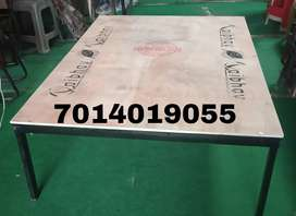 New heavy iron plywood bed size 4×6