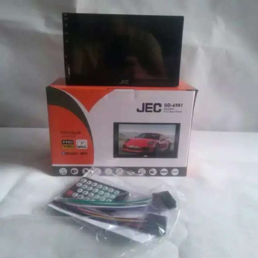 """Head unit double din mirror link android 7"""" plus pasang di Periuk 0"""