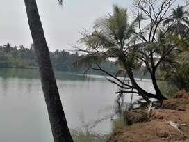 River touch property Near Brhmavar 50 cents land with a D. No