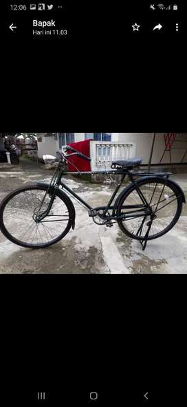Dinjual sepeda ontel enjoy di pakai