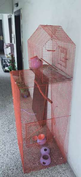 Cage for birds cats parrots etc