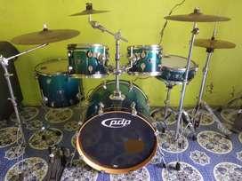 Drum PDP x7 maple cymbal zildjian zbt