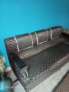 Three piece Sofa (5 seater )