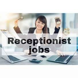 Required front desk (Receptionist) apply now