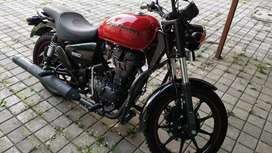 Thunderbird 350x Sporty look