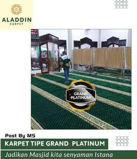 Siap Jual Karpet Masjid Tipe Grand Platinum Berkualitas Super