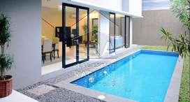 Rumah Dijual ada Swimming Pool, Bagus dan Siap Huni