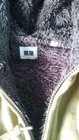 Zip hoodie UNIQLO sherpa size M