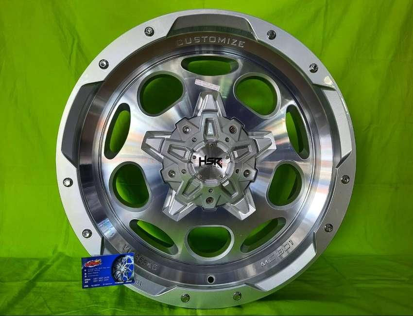 New velg HSR di toko Ontrack r20 Pisak lebar 9 pajero, range rover 0