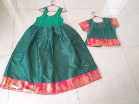 Baju india anak lehengga