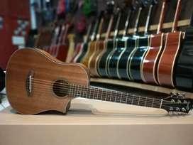 Gitar akustik mini 3/4 coax cowboy