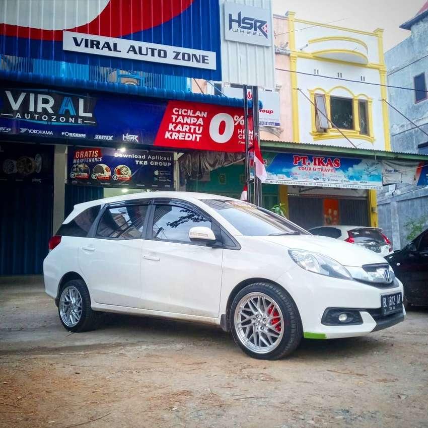 Velg Mobil Honda Mobilio HSR r17 bisa dicicil di toko Velg Mobil Aceh 0