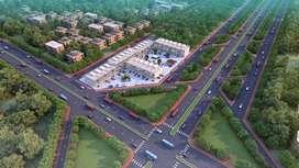 124 sq.yds plot for sale On Airport road, AERO ARCADE Aero city Mohali