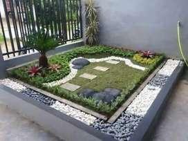 Jasa Pembuatan dan Perawatan Taman Rumah