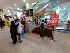 Take Over / Dijual Coffee Booth di mall Jaksel (Serious Buyer only)