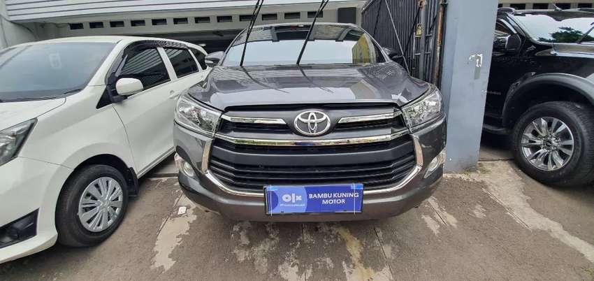Toyota Innova G Manual M/T Diesel 2016 Abu-Abu Istimewa Jakarta Timur 0